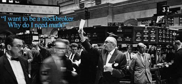 We Use Math broker – Stock Broker Job Description